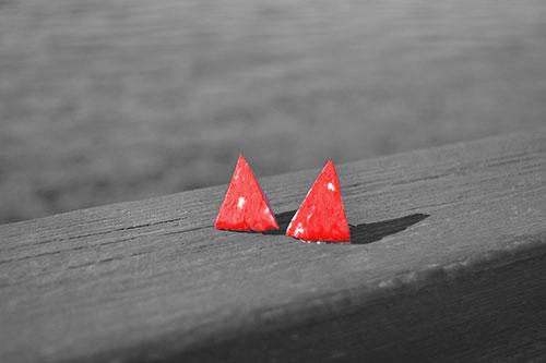 Pendientes-rojos