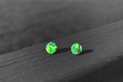 Pendientes-verdes